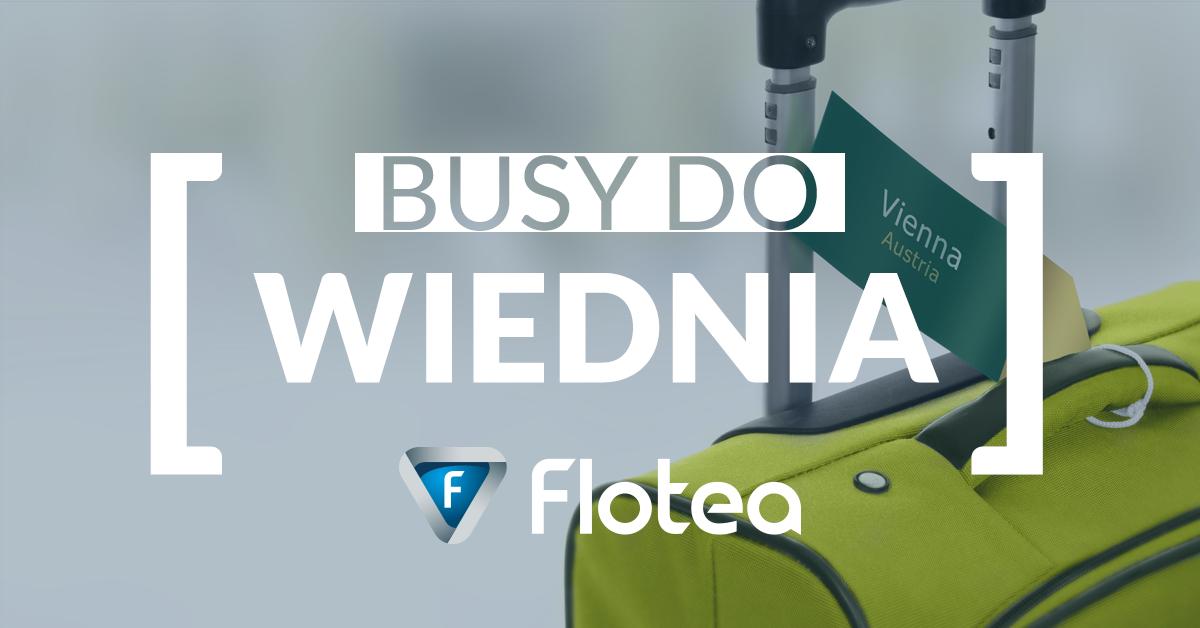 Busy do Wiednia – już od 130 zł!