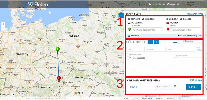 Jak kupić bilet do Wiednia Door 2 Door