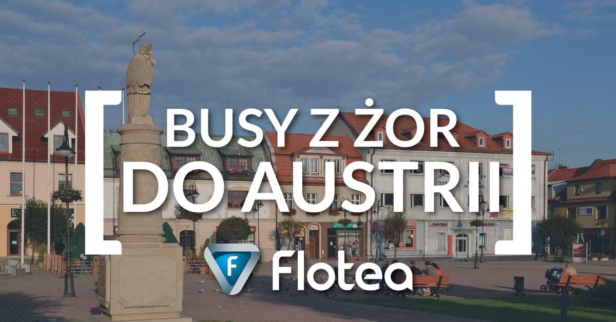 Busy Żory Austria już od 99zł