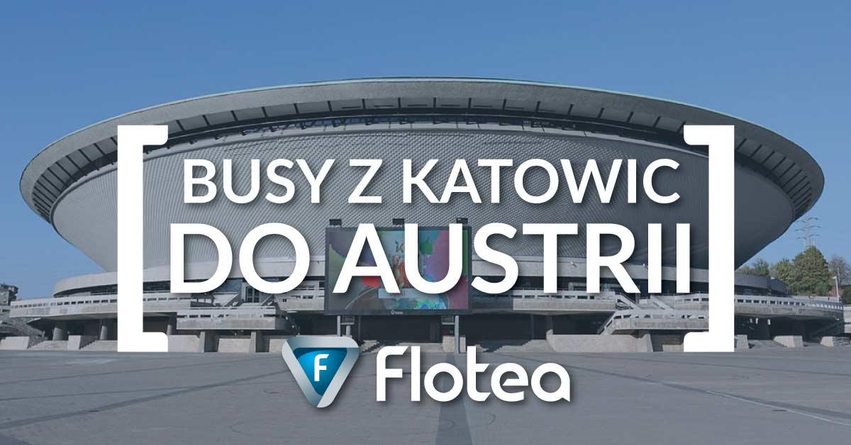 Busy z Katowic do Austrii od 119,99zł 🚌