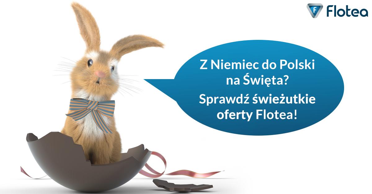 Wracasz na święta wielkanocne? Sprawdź przejazdy busami z Niemiec do Polski