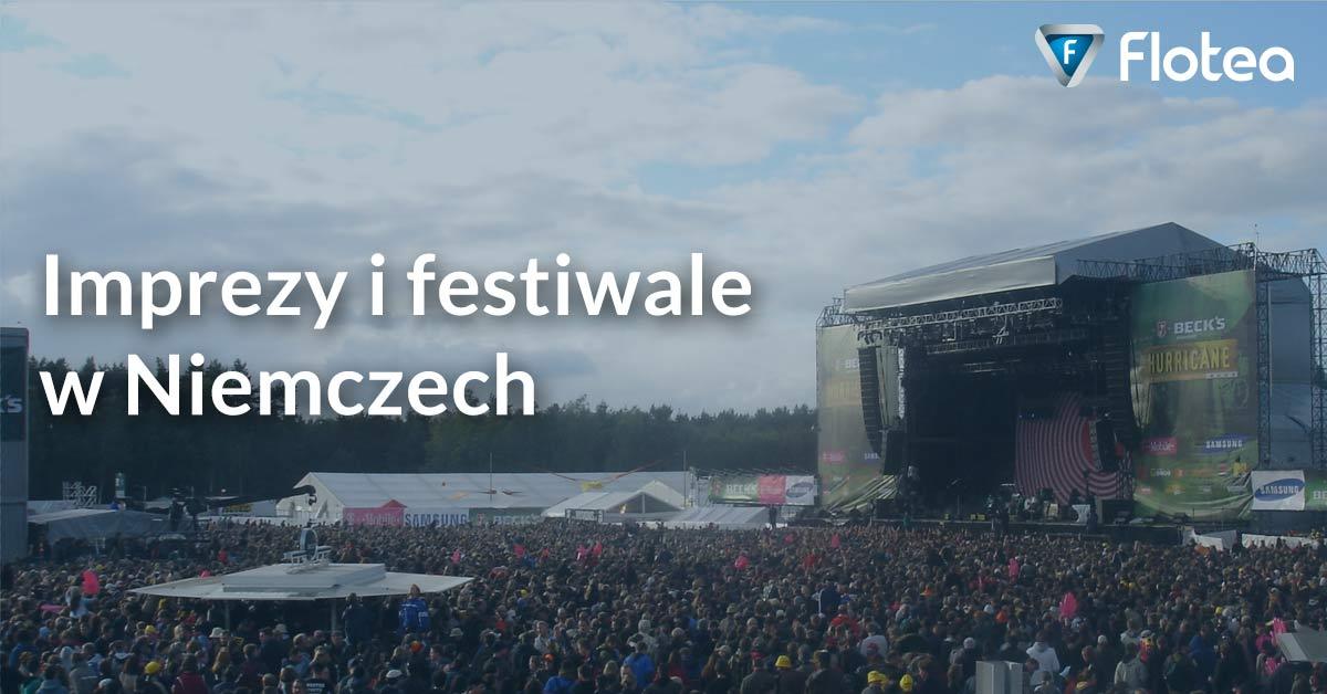 Imprezy i festiwale w Niemczech