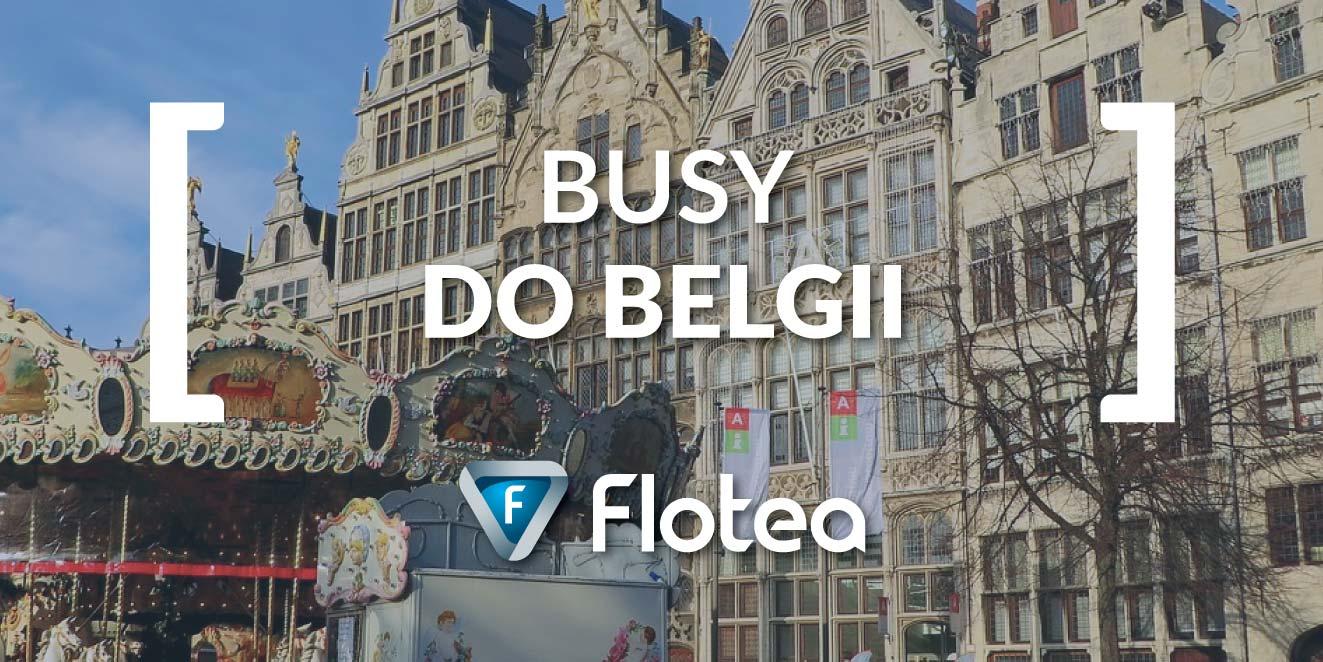 Busy do Belgii z Flotea.pl