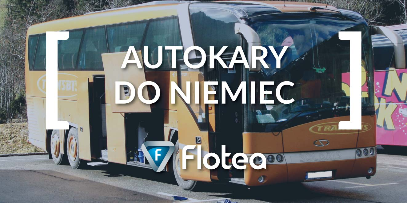 Autokary do Niemiec już wkrótce na Flotea pl