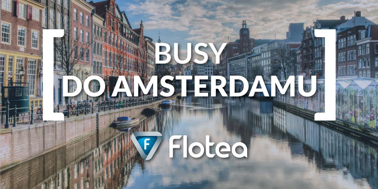 Busy do Amsterdamu