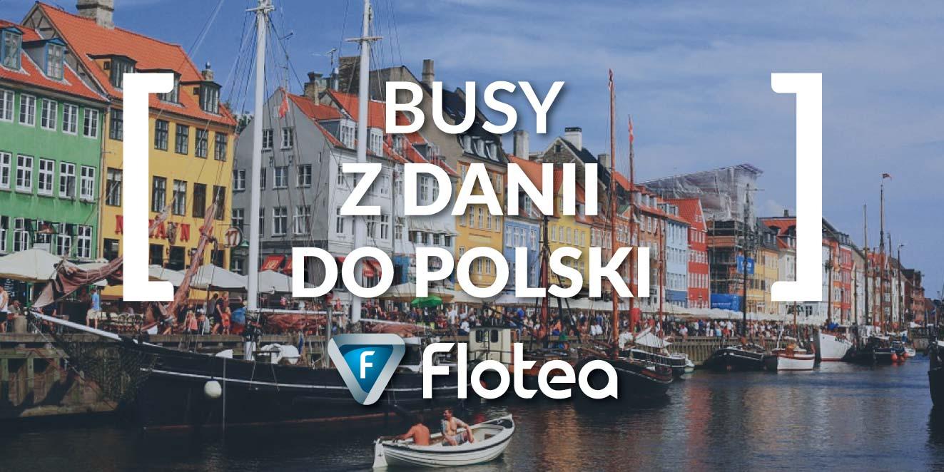 Busy z Danii do Polski
