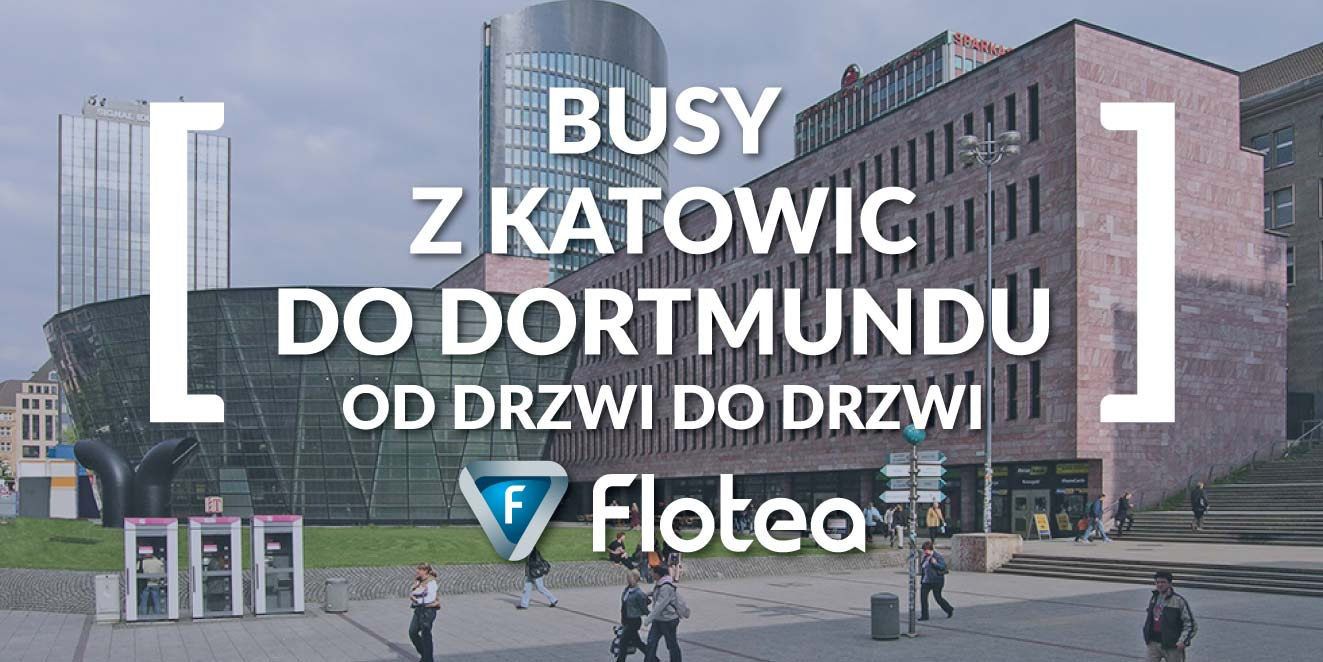 Busy z Katowic do Dortmundu