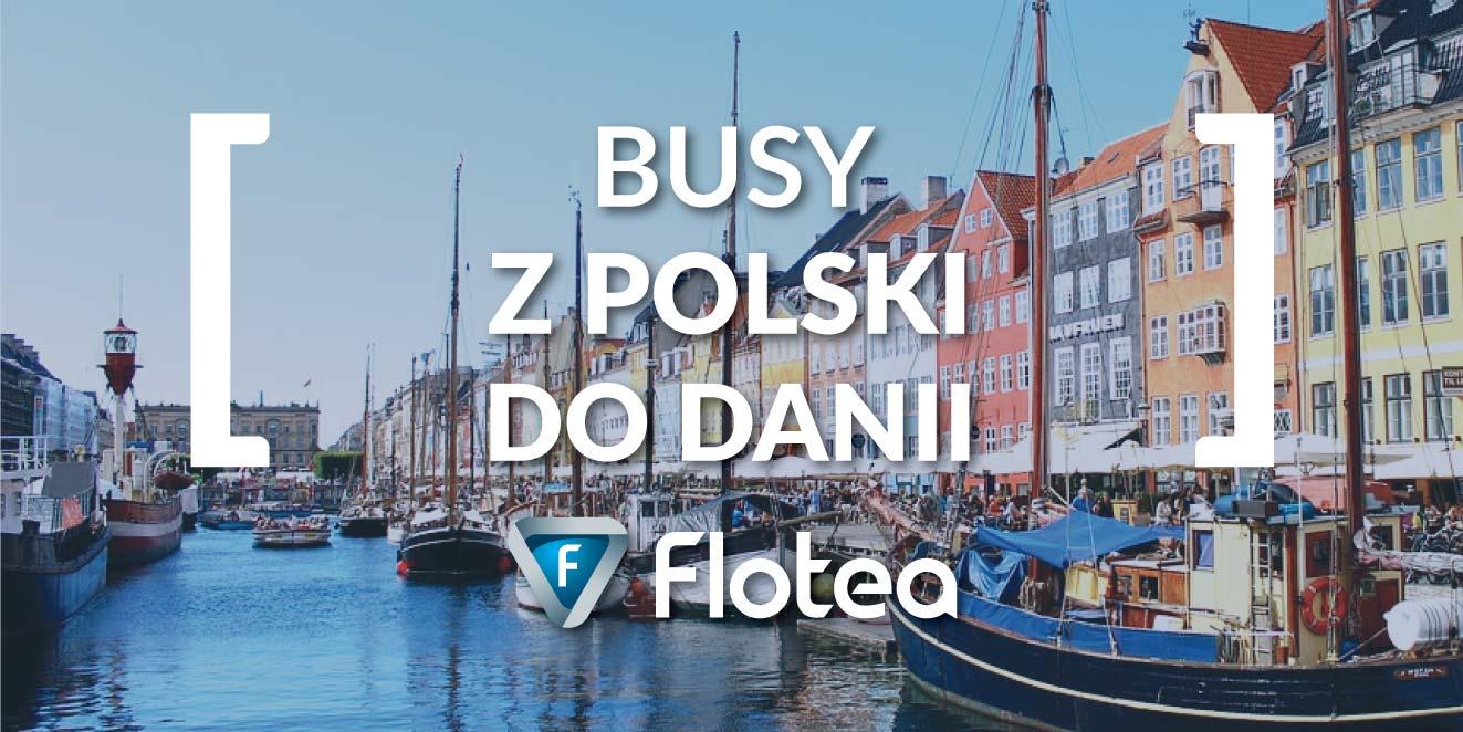 busy z Polski do Danii