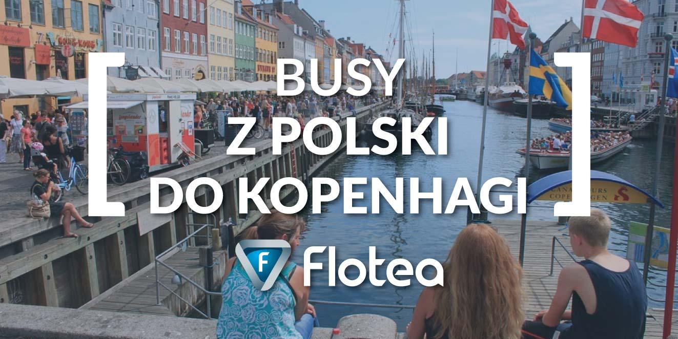 Busy z Polski do Kopenhagi