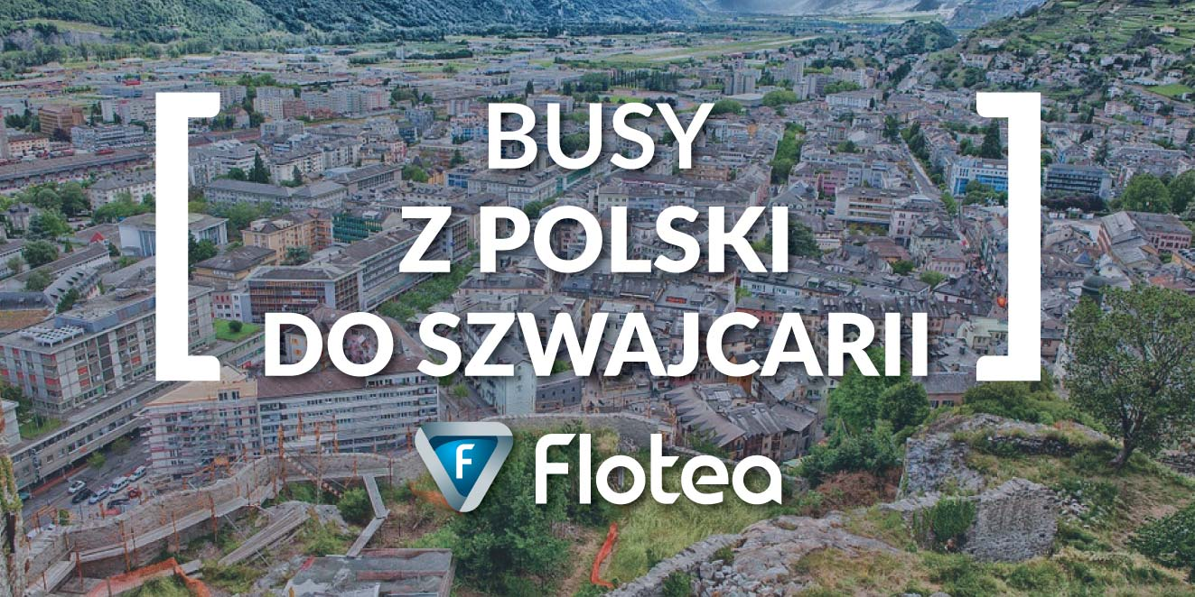 Busy z Polski do Szwajcarii