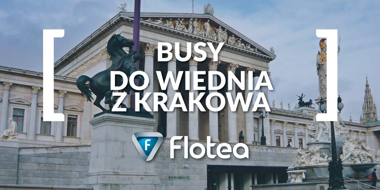 Busy do Wiednia z Krakowa codziennie w trybie door2door