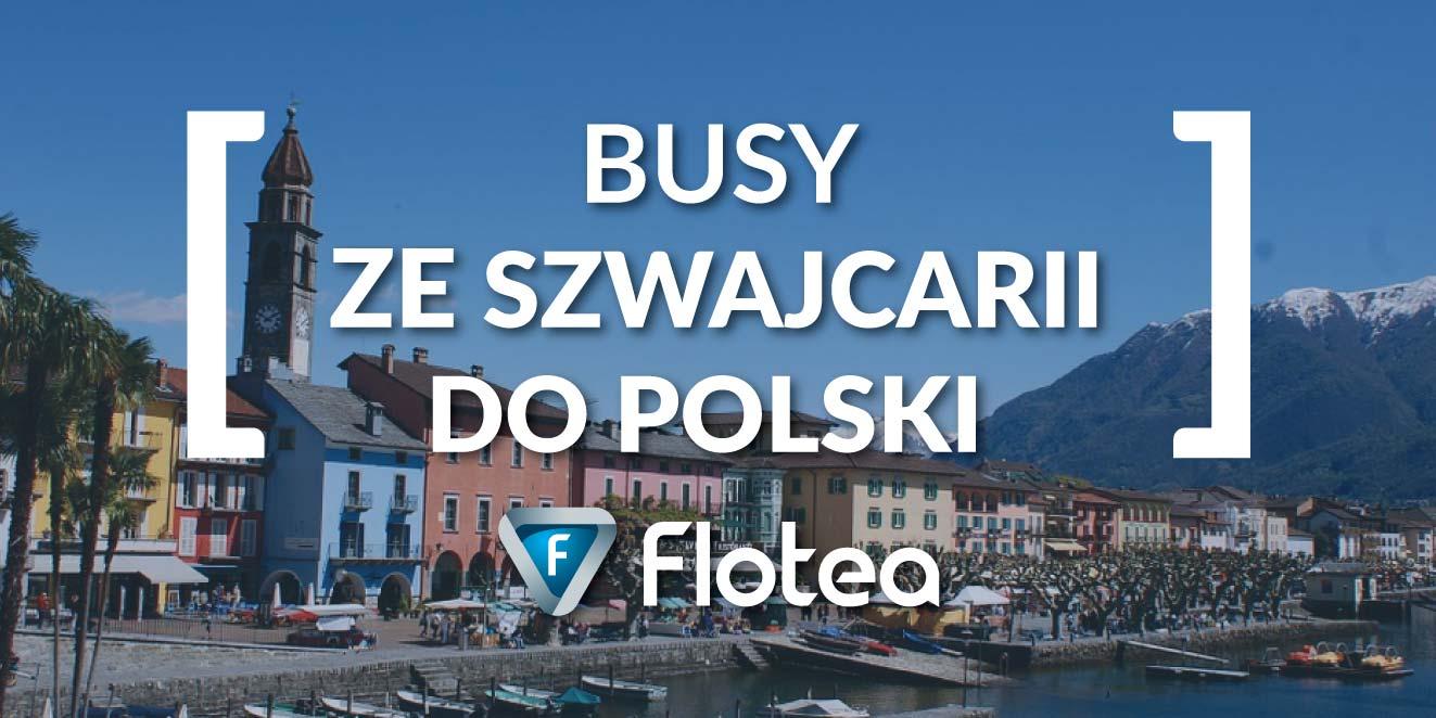 Busy ze Szwajcarii do Polski
