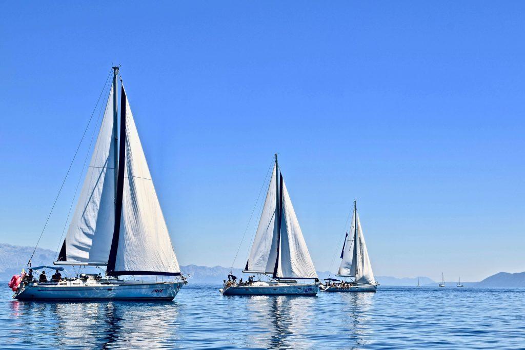 czarter jachtów - turystyka żeglarska
