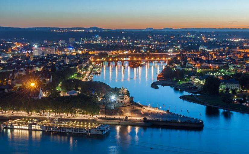 Najstarsze miasto Niemiec – piękne Koblenz am Rhein