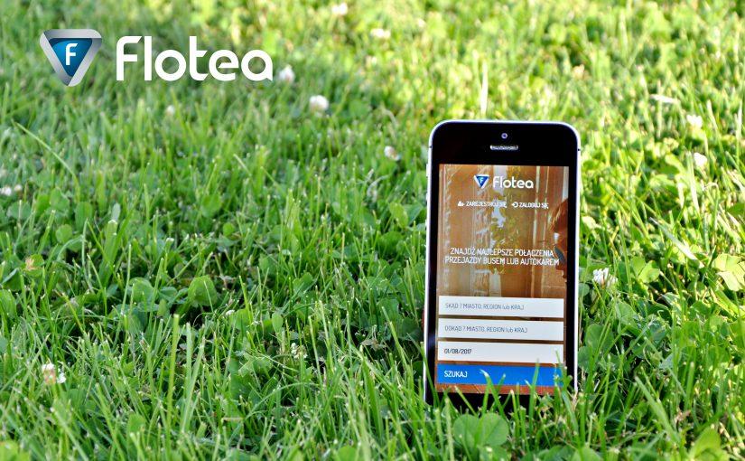 Aplikacja mobilna FLOTEA bilety Autobusowe Busy z adresu na adres