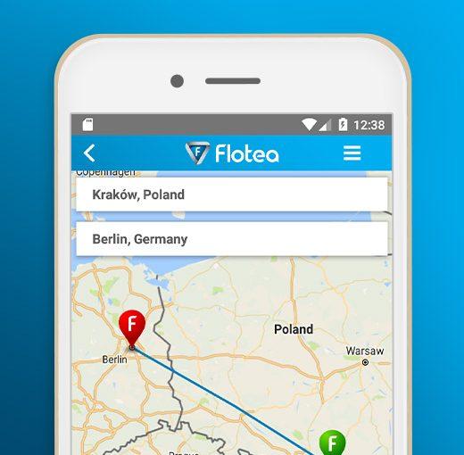 Aplikacja mobilna FLOTEA